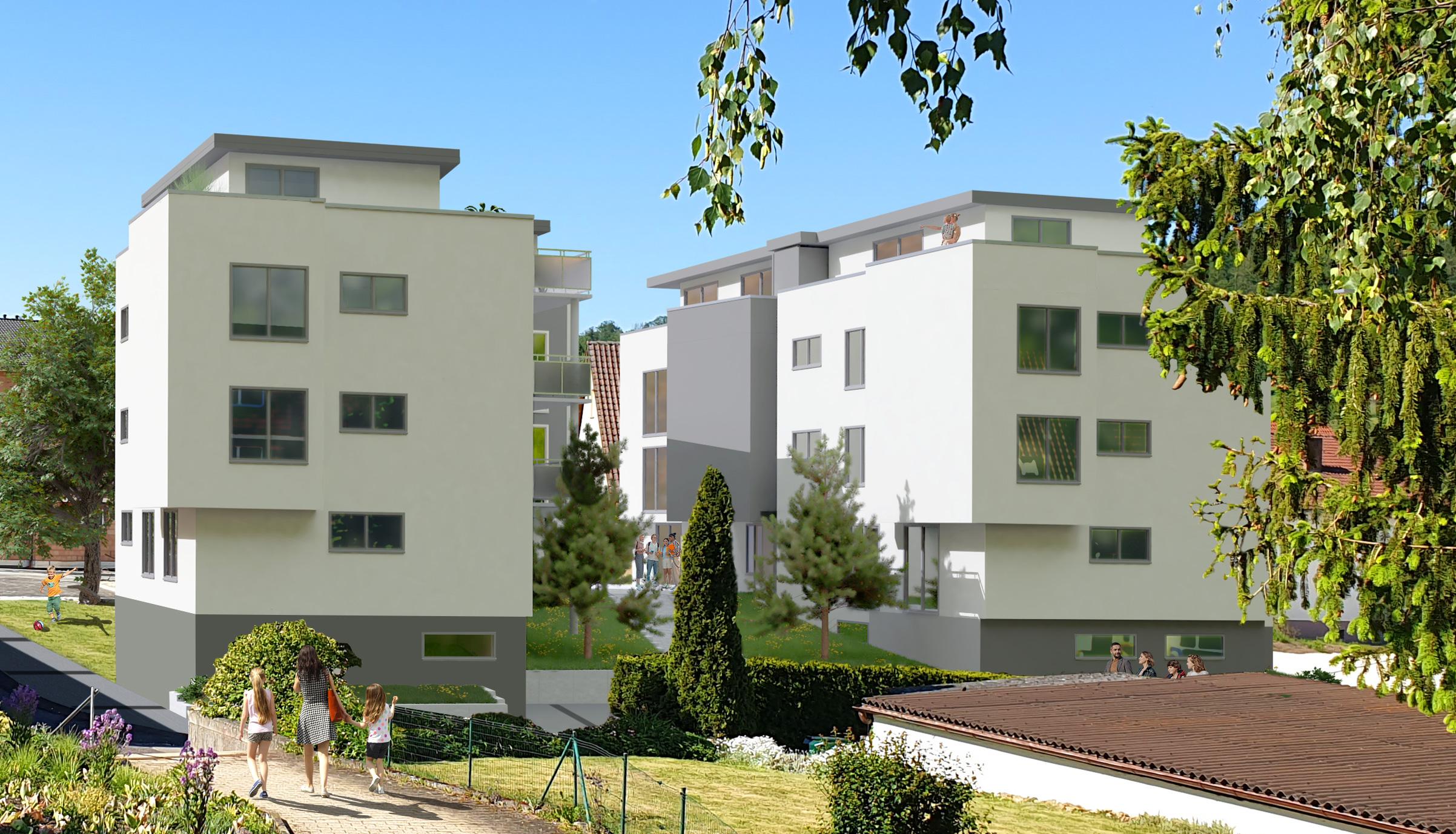 Neubau: Außergewöhnliche Eigentumswohnungen in Essingen
