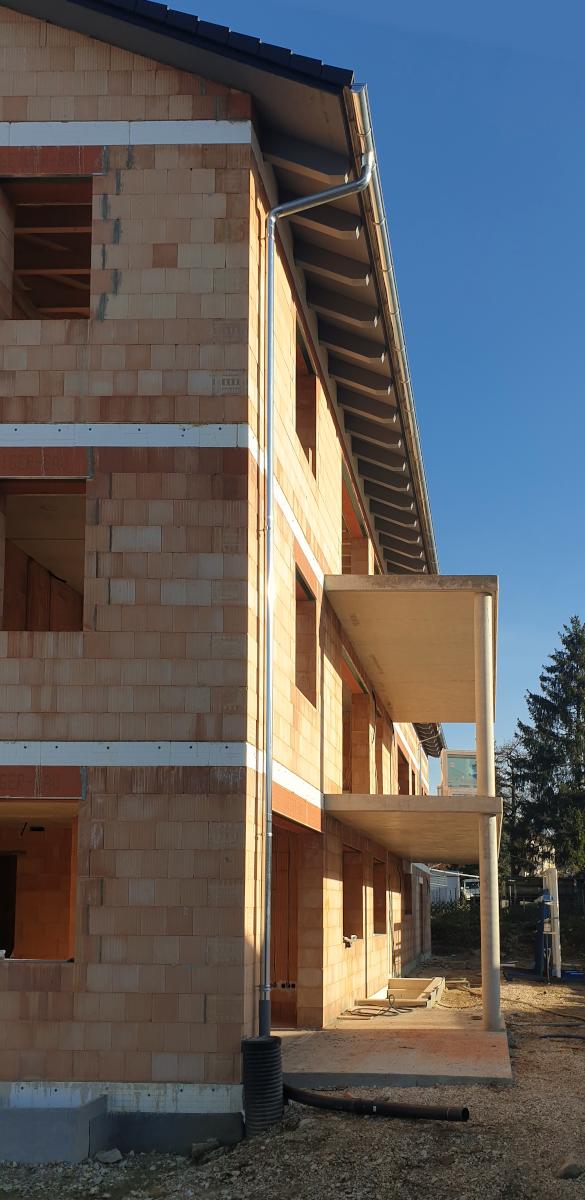 Ein Neubau-Projekt von Bedacht, im Rohbau-Zustand